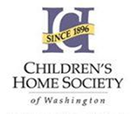 Picture of Childrens Home Society of Washington log with ribbon 1996