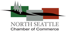Picture of North Seattle Chamber of Commerce logo with trees
